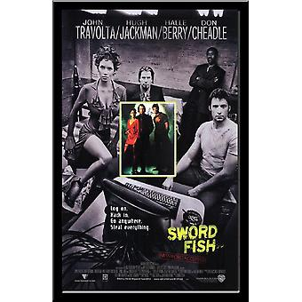 Swordfish - Signed Movie Poster