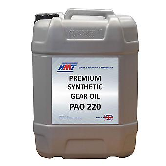 HMTG138 Premium Synthetic Industrial Gear Oil PAO 220 - 25 Litre Plastic