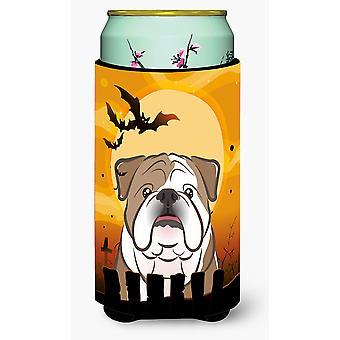 Halloween English Bulldog  Tall Boy Beverage Insulator Hugger