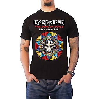 Iron Maiden T Shirt Book Of Souls Live Chapter 2017 new Official Mens Black