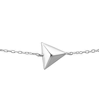 Triangle - 925 Sterling Silver Bracelets de chaîne - W23279X
