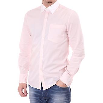 Juicy Couture Mens Juicy Contrast Collar Shirt