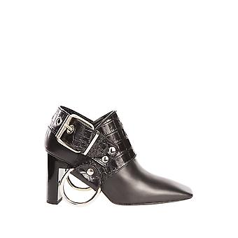 Alyx AAWHH0001001 ladies black leather ankle boots
