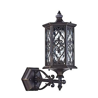Maytoni Lighting Canal Grande Outdoor Collection Wall Mounted Coach Lantern, Bronze