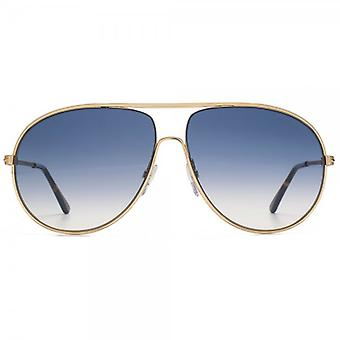 Tom Ford Cliff Sunglasses In Shiny Rose Gold