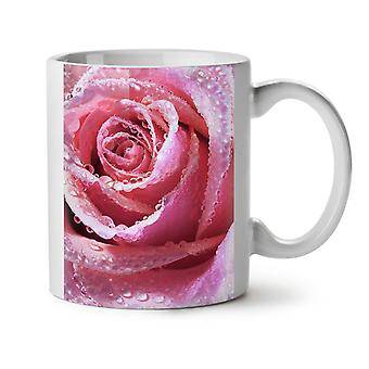 Rose Novelty Print NEW White Tea Coffee Ceramic Mug 11 oz | Wellcoda