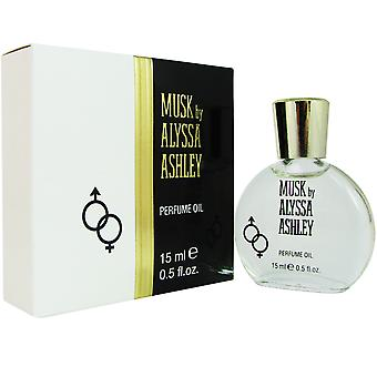 Moschus von Alyssa Ashley 0,5 oz 15 ml Parfümöl