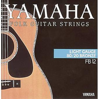 Steel string (acoustic guitar) Yamaha FB12 Light 012-053