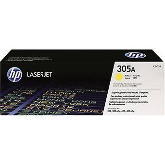 HP Toner cartridge 305A CE412A Original Yellow 2600 pages