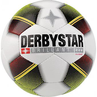 10 x DERBY STAR youth ball - brilliant S LIGHT includes ball sack