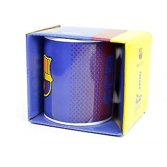 FC Barcelona Official Football Fade Mug