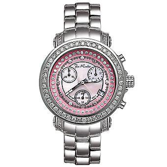 Joe Rodeo diamond men's watch - RIO silver 2 ctw