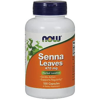 Now Foods Senna Leaves 470Mg 100 Capsules (Vitamins & supplements , Special supplements)