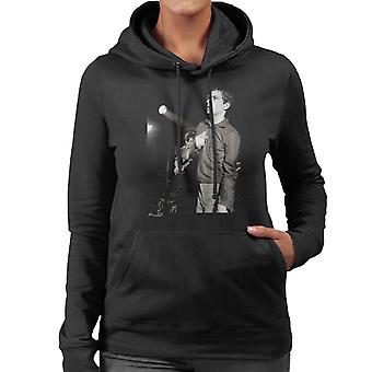 Joy Division Ian Curtis Live At Bowdon Vale Youth Club Women's Hooded Sweatshirt