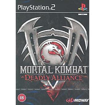Mortal Kombat dodelijke Alliantie (PS2)