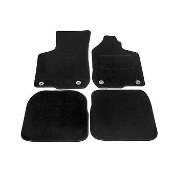 Fully Tailored Car Floor Mats - Audi A3 1996-2002 Black