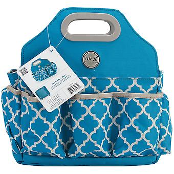 Crafter's Tote Bag-Aqua