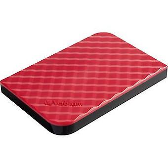 Verbatim Store n Go 2.5 external hard drive 1 TB Red USB 3.0