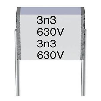 TDK B32560-J1104-K 1 pc(s) MKT thin film capacitor Radial lead 0.1 µF 100 V AC 10 % 7.5 mm (L x W x H) 9 x 2.5 x 4.7 mm