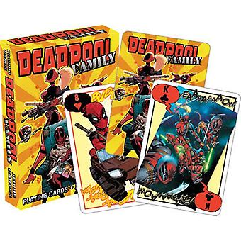 Marvel Deadpool Family Set Of Playing Cards (52463)