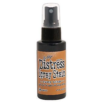 Distress Spray Stain 1.9oz-Rusty Hinge