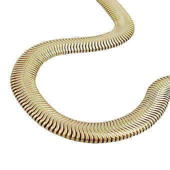 Serpente 6x2mm catena color oro placcato AMD 50cm