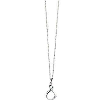 Elements Silver Infinity Loop Pendant - Silver