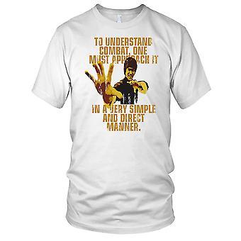 Bruce Lee To Understand Combat Kung Fu Kids T Shirt