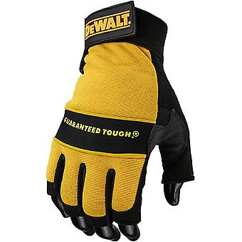 DeWalt Mens DeWalt Tough Fingerlose Performance Handschuhe