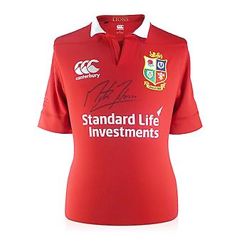 Martin Johnson Signed British Lions Rugby Shirt