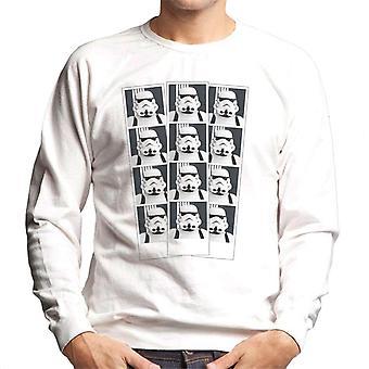 Original Stormtrooper Photo Booth bild Strip Mäns tröja