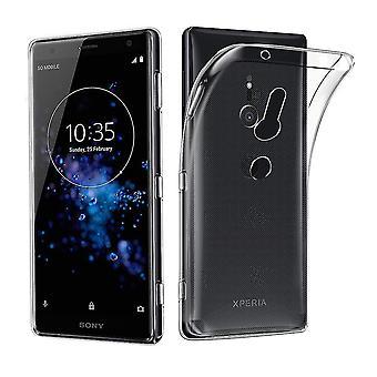 Sony Xperia XZ3 Transparent Case Hülle Silikon