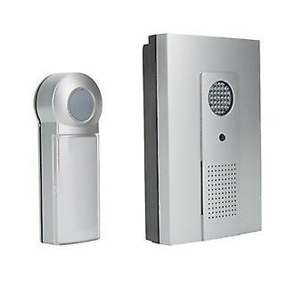 Smartwares DB286A Wireless Tür chime Kit mit 16 Melodien + 24 Monate Garantie schwarz/grau