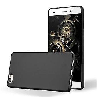 Cadorabo Hülle für Huawei P8 LITE 2015 - Handyhülle aus TPU Silikon im Matt Metallic Design - Silikonhülle Schutzhülle Ultra Slim Soft Back Cover Case Bumper