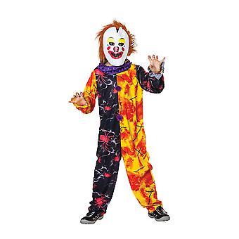 Halloween Clown Boy Large