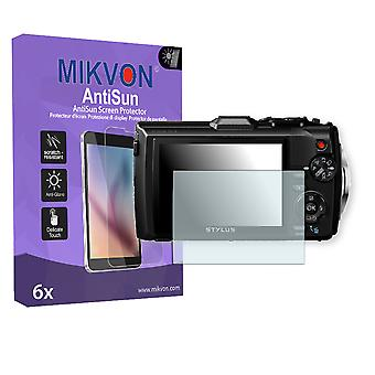 Olympus TG-4 Screen Protector - Mikvon AntiSun (Retail Package with accessories)