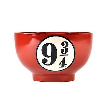 Harry Potter Müslischale Gleis 9 3/4 aus Keramik, Fassungsvermögen 500 ml., in schöner Geschenkbox.