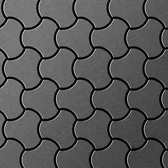 Mozaïek van massief metaal Titaan ALLOY Ubiquity-Ti-SB