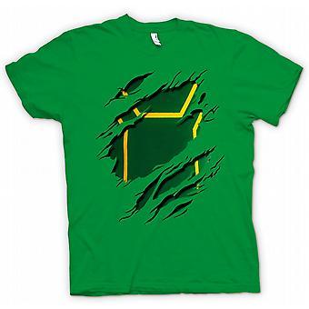 Womens T-shirt - Kick Ass Ripped Design Costume - Funny Superhero