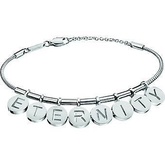 Calvin Klein Eternity srebrny stal urok kobiet bransoletka KJ6MMB000200