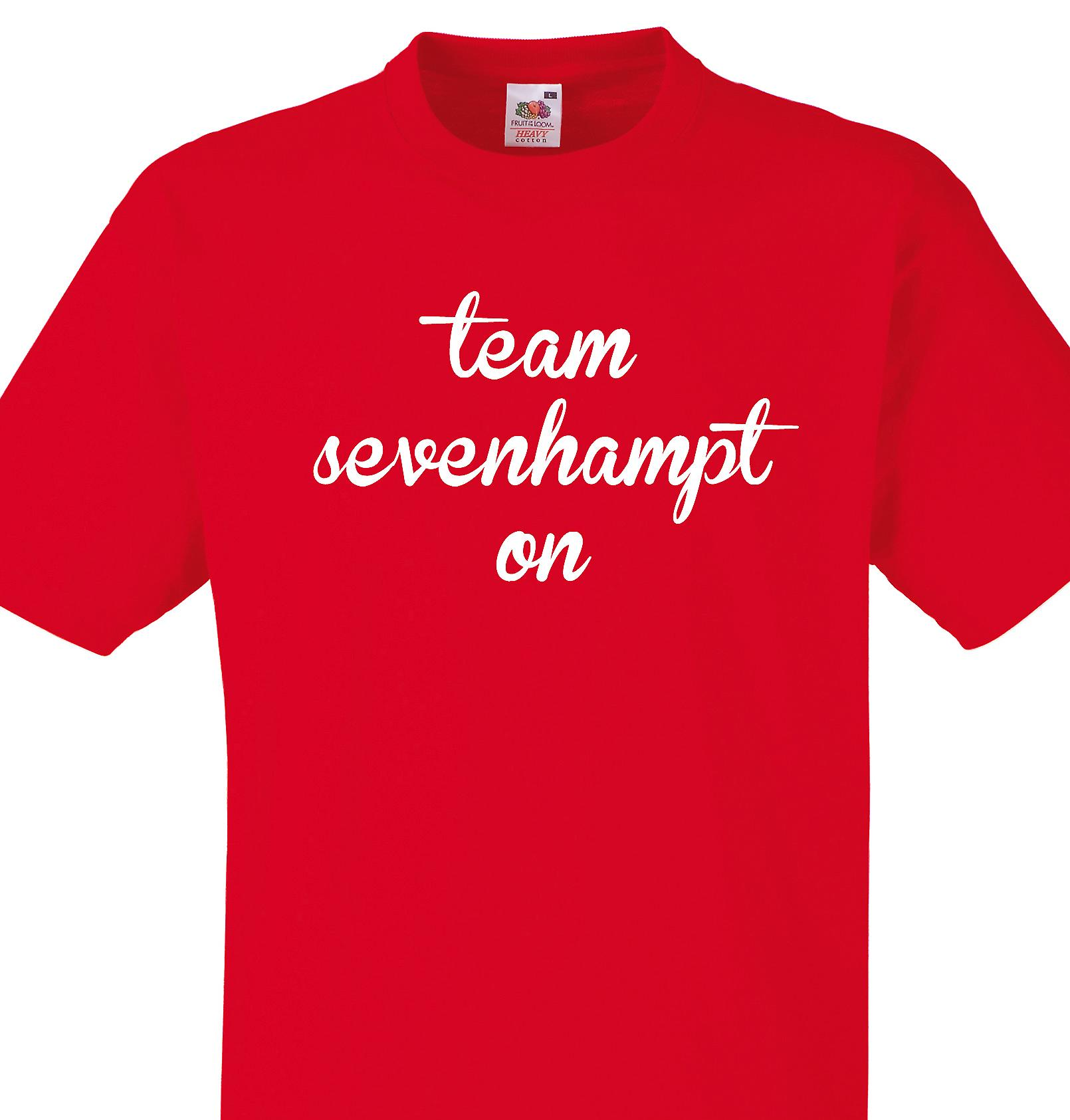 Team Sevenhampton Red T shirt