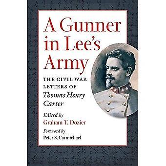 Un artillero en el ejército de las heces: las letras de Guerra Civil de Thomas Henry Carter (Guerra Civil América)