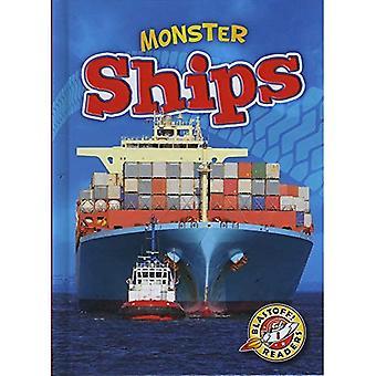 Monster Ships (Blastoff! Readers: Monster Machines)