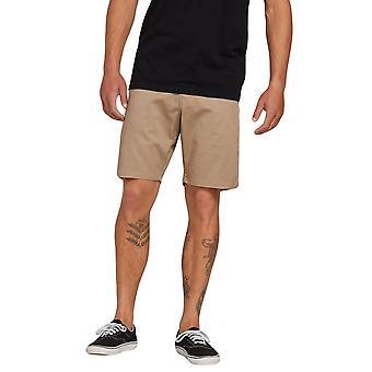 Volcom Men's Stretch Shorts ~ Frickin Modern Stretch 19 khaki