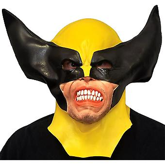 Wolverine Latex Mask For Adults