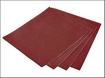 Faithfull Aluminium Oxide Cloth Sheet 230 x 280mm 60g (25)