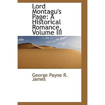 يا رب مونتاجوس الصفحة كمية رومانسية تاريخية ثالثا بجيمس ر. باين & جورج