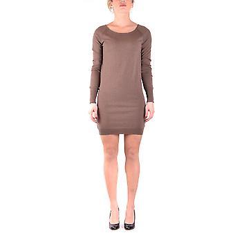 Pinko Brown Wool Dress