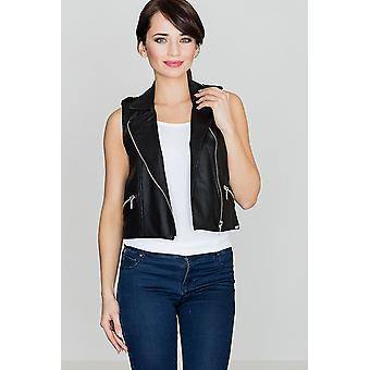 Lenitif women's vest black