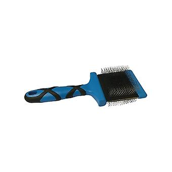 Groom Professional Double Sided Flexible Slicker Brush Firm